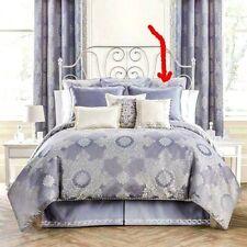 Waterford VERANDA THISTLE  European Pillow Sham Gray Silver NEW / POUCH Euro