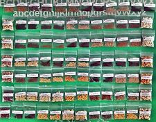Seeds,Emergency,Survival Non-GMO,Organic,Heirloom.82 Pkgs 41 DifferentVarieties