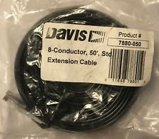 Davis 8-Conductor Cable for Weather Wizard 50ft / 15m 7880-050
