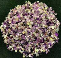 1 Oz Natural Amethyst Chips Point Quartz Crystal Rock Gemstone Healing Mineral