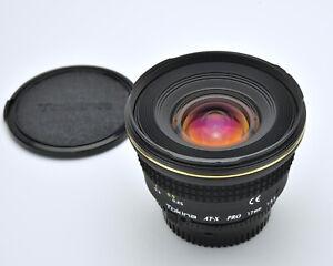 Tokina AT-X PRO 17mm f/3.5 Aspherical MF AF Lens For Nikon Full Frame FX (3485A)