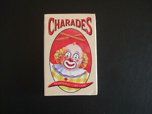Charades Card Game Unbranded
