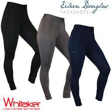JOHN WHITAKER  RIDING TIGHTS Ladies Silicone Seat Breeches Legging Phone Pocket
