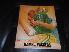 1966 GREEN BAY PACKERS PAUL HORNUNG LAST GAME PLAYED FOOTBALL PROGRAM NEAR MINT