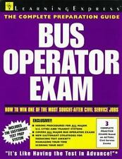 Bus Operator Exam (Learningexpress Civil Service Library)-ExLibrary