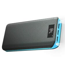 X-Dragon Blue 20000mAh Power Bank External Battery Portable Phone Charger 3-USB