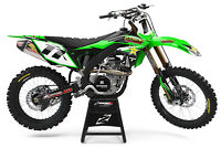 KAWASAKI KX KXF 125 250 450 MOTOCROSS MX GRAPHICS FULL KIT ROCKSTAR