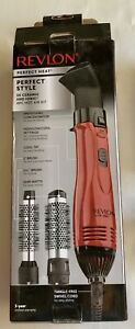 "Hot Air Brush REVLON 3X Ceramic 1"" & 1 1/2"" Brushes"