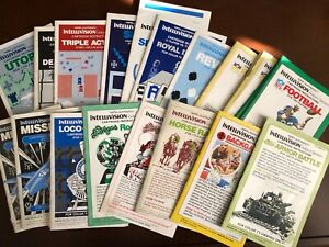 Intellivision Manuals from Mattel Electronics