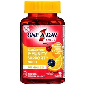 One A Day Vitacraves Immunity Gummies, 70 Count