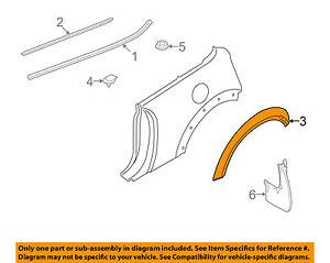 MINI OEM 07-15 Cooper Fender-Wheel Flare Molding Left 51772751321