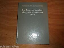 DDR Jahreszusammenstellung 1988 , ** , Jahressammlung