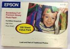 Epson Photo Paper Glossy 4x6 - 20 Sheets 9-mil Medium Weight