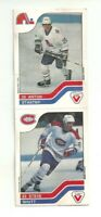 STEVE SHUTT MONTREAL CANADIENS A. STASTNY QUEBEC NORDIQUES VACHON HOCKEY CARD
