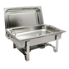 New listing Winco C-2080B Get-A-Grip Chafing Dish, 8 quart, full size, rectangular