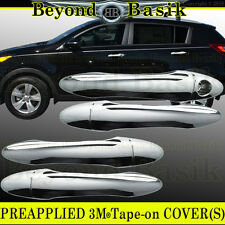 Fits 2011 2012 2013 2014 2015 2016 Kia Sportage Chrome Door Handle Covers w/o PK