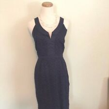 OLD NAVY | Women's Navy Embroidered Cotton Lined Dress SZ 0 Free Shipping!