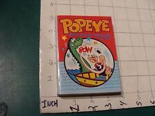 High Grade UNREAD big little book: POPEYE in Ghost Ship to Treasure Isl c. 1967