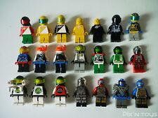 LEGO ESPACE / X 21 Minifigures Space