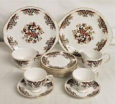 Colclough China Tea Set - Royale Design - 16 Pieces Thames Hospice