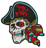 Écusson patche Pirate patch création vêtements thermocollant brodé DIY