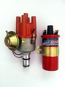 SVDA AccuSpark Electronic Distributor & Sports Coil for VW Beetle and Kombi