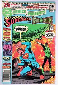 DC Comics Presents #26 NEWSSTAND 1st Appearance New Teen Titans Raven Cyborg