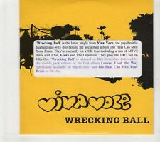 (GR883) Viva Voce, Wrecking Ball - 2005 DJ CD