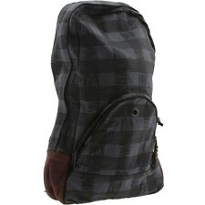 Stussy Buffalo Plaid Backpack (black)
