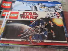Lego Star Wars 8086 instruction book/manual only