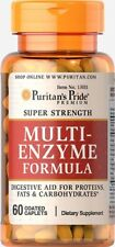 MULTI ENZYMES FORMULA  60 TABLETS, FOOD INTOLERANCE AND DIGESTION