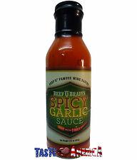 Beef O Bradys Spicy Garlic Famous Wing Sauce 382g Bottle 'O' Brady's BBQ