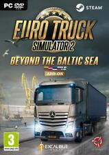Euro Truck Simulator 2: Beyond The Baltic Sea Add-On (PC DVD) NEW SEALED