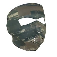 Dark Brushed Camo Camouflage Hunter Neoprene Full Face Mask Free Shipping Biker