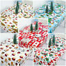 Christmas Bell Tablecloth Polyester Table Cover Xmas Home Party Decoration
