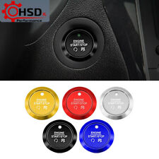 Engine Start Stop Ignition Button Ring Cover For Ford Fusion Edge Mustang Explor