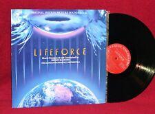 OST LP LIFEFORCE HENRY MANCINI 1985 VARESE SARABANDE NM NEAR MINT