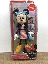Disney Minnie Mouse Sweet Latte 9-Inch Fashion Poseable Doll Figure W/ Mug Cup