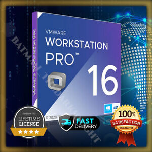 VMware Workstation Pro 16 LIFETIME LICENSE KEY / FAST DELIVERY