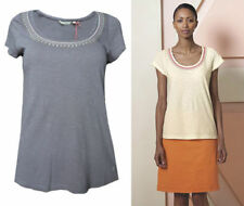 White Stuff Scoop Neck Short Sleeve Tops & Shirts for Women
