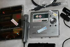 SONY MZ R909 MINIDISC PLAYER RECORDER, SONY MICROPHONE  MD