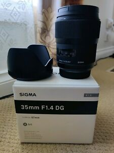 Sigma Art Series 35mm F1.4 lens for Sony A-mount