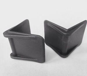 25No 40mm X 40mm PLASTIC STRAPPING EDGE PROTECTORS