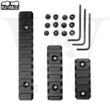 Keymod Picatinny Weaver Rail Section Aluminum 5 7 11 Slot 2