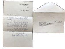 More details for winston churchill signed letter