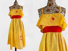 Vintage 1970s Jody T of California sundress Size XS UK 6 8 cottagecore gunne sax