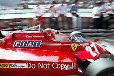 Gilles Villeneuve Ferrari 126 CK F1 Season 1981 Photograph