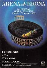 Italy La Gioconda di Amilcare Ponchielli Aida di Giuseppe Verdi Festival Arena