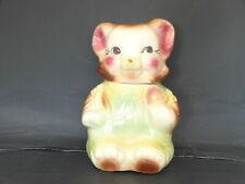 American Bisque Cookie Bear Cookie Jar
