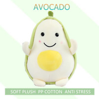 23cm Avocado Stuffed Plush Toy Filled Doll Anti Stress Cushion Pillow For Kids